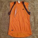 Adidas cycling jersey with pockets, zipped vents