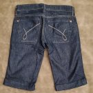 James Cured by Seun Bermuda Jean shorts worn once