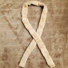 NEW Genuine fur tie belt