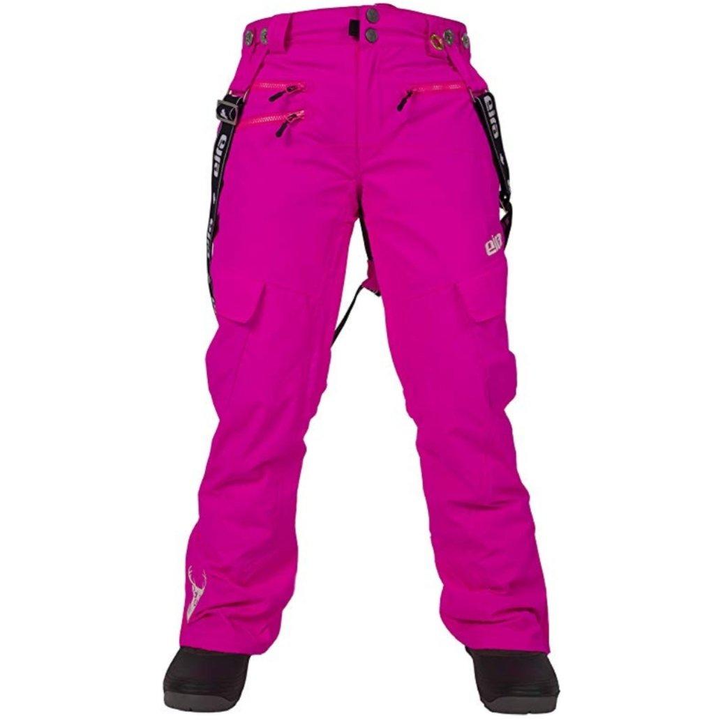 NWT Eira fuschia Woodlot suspender snow pants