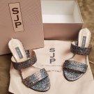 SJP Sarah Jessica Parker Fleur iridescent sandal