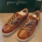 New in box Paul Green Simonea leather sneaker