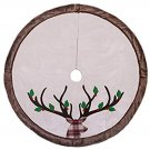 Valery Madelyn 48 in Pre-lit Woodland Christmas Tree Skirt