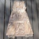Jill Stuart beaded and victorian lace silk dress