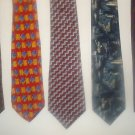 Fab 5 TIE DEAL! 5 NAME BRAND ties for only $25! Lot 5