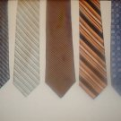 Fab 5 TIE DEAL! 5 NAME BRAND ties for only $25! Lot 11