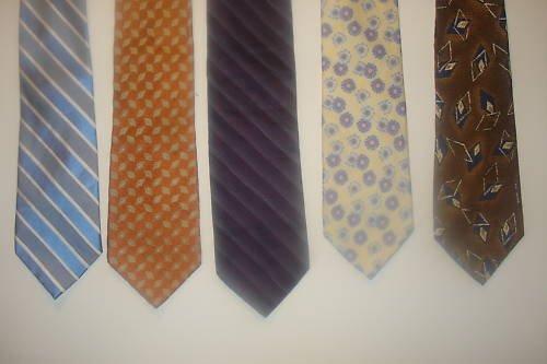 Fab 5 TIE DEAL! 5 NAME BRAND ties! Lot 9