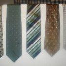 Fab 5 TIE DEAL! 5 NAME BRAND ties! Lot 7