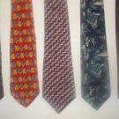 Fab 5 TIE DEAL! 5 NAME BRAND ties! Lot 5
