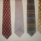 Fab 5 TIE DEAL! 5 NAME BRAND ties! Lot 4