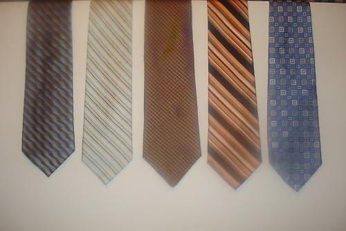 Fab 5 TIE DEAL! 5 NAME BRAND ties! Lot 11