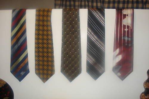 Fab 5 TIE DEAL! 5 NAME BRAND ties ! Lot 1