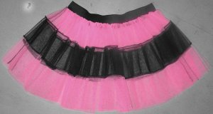 BABY PINK TUTU SKIRT PETTICOAT DANCE RAVE CYBER PARTY