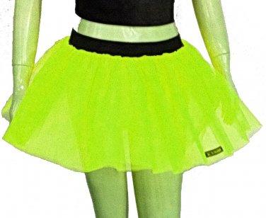 Neon Uv Lime Tutu Skirt Petticoat Multi Layers Fancy Costumes Dress Dance Party Free Shipping