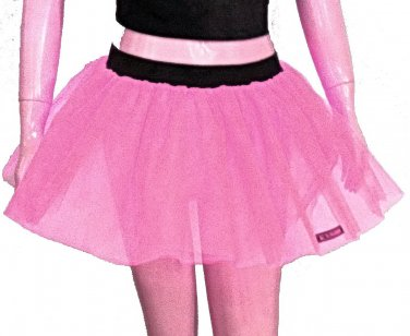 Baby Pink Tutu Skirt Petticoat Multi Layers Non Neon Fancy Costumes Dress Dance Party Free Shipping