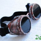 Steampunk Cyber Goggles Glasses Cosplay Anime Rave