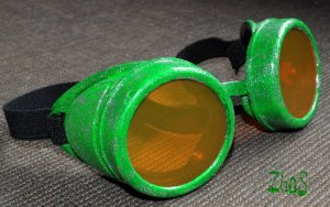 Steampunk Goggles Cyber Glasses Cosplay Anime Larp Rave Sheen 202