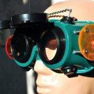 Steampunk Goggles Glasses Cyber HI TECH PEOPLE post Apocalypse