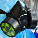 Cyber Gothic Respirator Gas Mask Goth Biohazard Fetish Blacks Rave COSPLAY