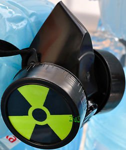 Blacks Cyber Gothic Mask Respirator Gas Mask Goth RADIATION Fetish Dub Noise MAD
