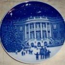 LE C1987 Bing &Grondahl Christmas Blue & White Plate