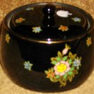 Vintage Early Japan Mark Pottery Bowl w/Enamelling