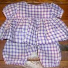 C1890 Cotton Doll Outfit for German/French Bisque