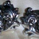 """Antique Fabulous Art Nouveau 1 1/4"""" Earrings"""