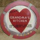 Craft, Wooden Lazy Susan Grandma's Kitchen Memories