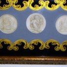 Rare Retro 40's Turner Wall Accessory, Framed Plaque
