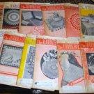 12 Vintage Work Basket Magazines, 1961 Crafts Etc