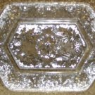 Small Antique C1890 Pattern Glass Nappy or Bowl