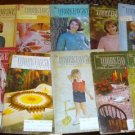10 Vintage Work Basket Magazines, 1965 Crafts Etc