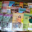 18 Vintage Work Basket Magazines, 1979 Crafts Etc