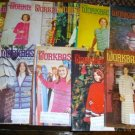 10 Vintage Work Basket Magazines, 1975 Crafts Etc
