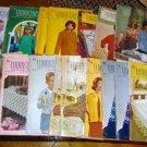 17 Vintage Work Basket Magazines, 1967 Crafts Etc