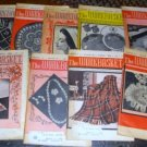 9 Vintage Work Basket Magazines, 1962 Crafts Etc