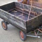 Early 20's Primitive Garden Wagon, Great for Flowers