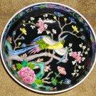 C1890 Oriental Bowl, Marked Nippon, Moriage w/Birds