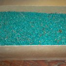 Extremely Rare!  Old Christmas Display, Green Sawdust in Original Box