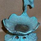 Bronze Frog Figure, Business Card Holder