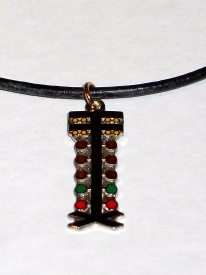 NHRA Drag Tree Staging Light Racing Jewelry Necklace