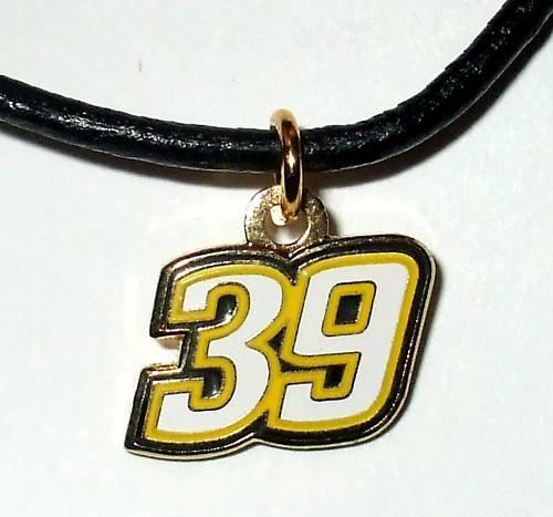 CHARM NECKLACE #39 RYAN NEWMAN NASCAR RACING JEWELRY