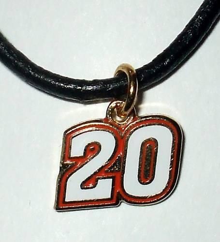 CHARM NECKLACE #20 JOEY LOGANO NASCAR RACING JEWELRY