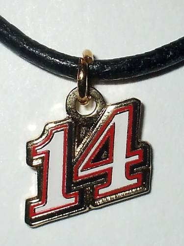 CHARM NECKLACE #14 TONY STEWART  NASCAR RACING JEWELRY
