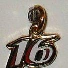 CHARM #16 GREG BIFFLE NASCAR AUTO RACING RACE JEWELRY