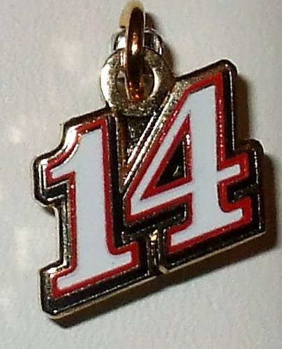 CHARM #14 TONY STEWART NASCAR AUTO RACING RACE JEWELRY
