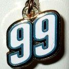 CHARM #99 CARL EDWARDS NASCAR AUTO RACING RACE JEWELRY