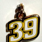 CHARM #39 RYAN NEWMAN NASCAR AUTO RACING RACE JEWELRY