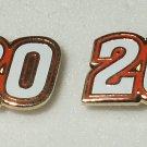 EARRINGS POST/STUD#20 JOEY LOGANO NASCAR RACING JEWERLY